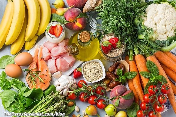 organic food vs inorganic food, detox
