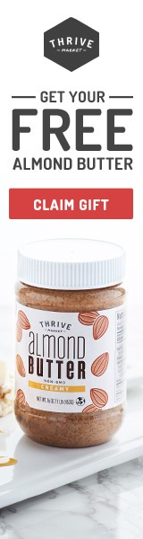 Free gift Almond butter