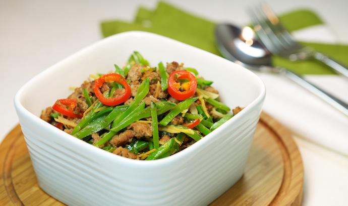 Spicey Minced Pork Recipe