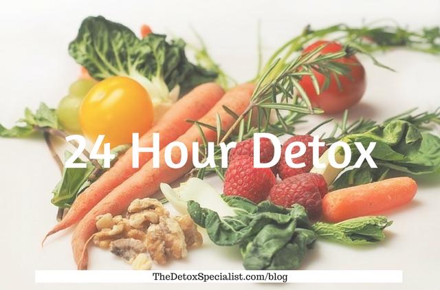 24 hour detox