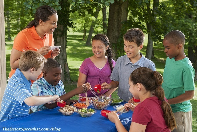 teach kids healthy habits